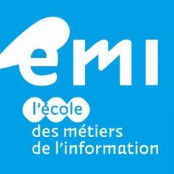 Logo de l'Ecole des Métiers de l'Information