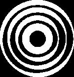 Ondes blanches du logo de l'Onde de Coop