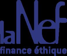 Logo bleu de La Nef
